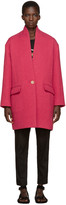 Etoile Isabel Marant Pink Edilon Coat