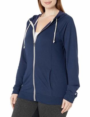 Champion Women's Plus-Size French Terry Full Zip Jacket