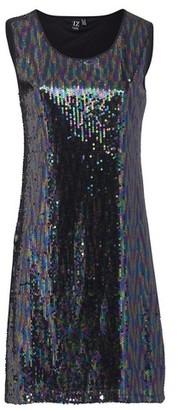 Dorothy Perkins Womens *Izabel London Black Shift Dress, Black