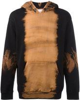 Palm Angels bleached trim hoodie - men - Cotton - S