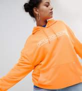 Puma Exclusive To ASOS Plus Hoodie In Bright Orange