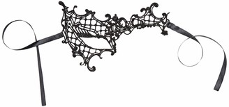 Dreamgirl Women's Lace Masquerade Mask Head Scarf