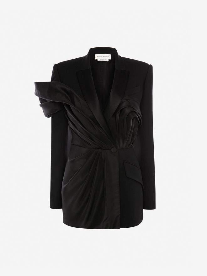 Alexander McQueen Jewelled Pin Jacket