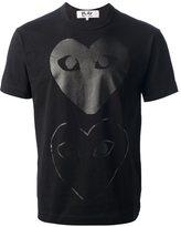 Comme des Garcons printed heart T-shirt