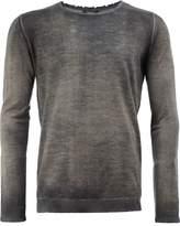 Avant Toi faded fine knit jumper