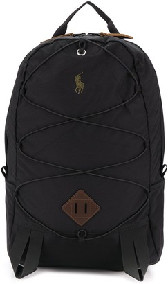 Polo Ralph Lauren embroidered logo backpack