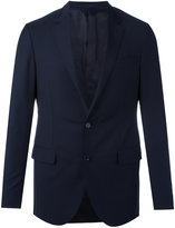 Lanvin two button suit jacket - men - Cupro/Wool - 46