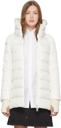 Herno White Heavy Hilo Jacket