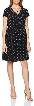 S'Oliver Women's Knee-Length A-Line Short Sleeve Dress,14 (Manufacturer Size: )
