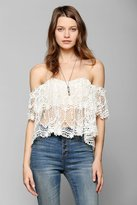 Stone Cold Fox Holy Lace Top