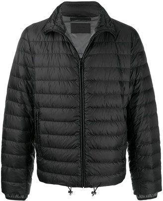 Prada Short Quilted Puffer Jacket