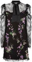 Pinko Cady Lace Mini Dress