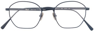 Persol 0PO5004VT800248 8002 BRUSHED NAVY Leather/Fur/Exotic Skins->Leather