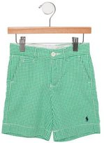 Polo Ralph Lauren Boys' Gingham Knee-Length Shorts
