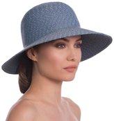 Eric Javits Luxury Fashion Designer Women's Headwear Hat - Squishee IV - Denim