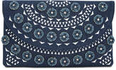 INC International Concepts I.n.c. Huw Denim Floral Small Clutch, Created for Macy's