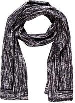 Proenza Schouler Tie-Dye Woven Shawl