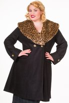 Banned Vintage PLUS SIZE Coat - or Red / 2XL-4XL - / 4XL