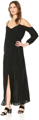 BB Dakota Women's Keaton Off The Shoulder Maxi Dress