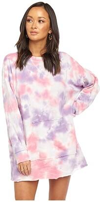 Show Me Your Mumu Sunday Sweatshirt Dress (Candy Tie-Dye) Women's Clothing