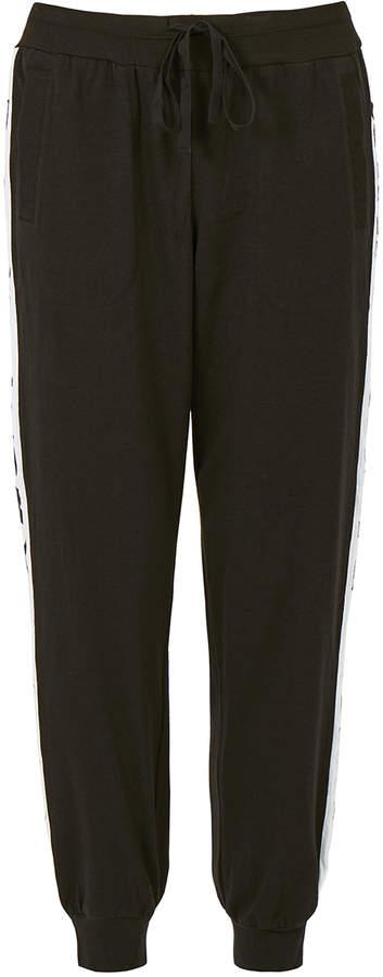 DKNY Sleepwear Spell It Out Black Jogger