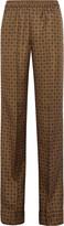 Michael Kors Printed silk wide-leg pants