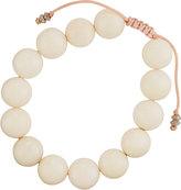 Armenta White Coral Beaded Bracelet