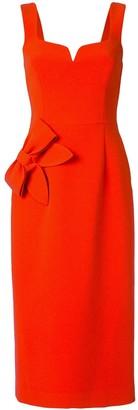 Rebecca Vallance Galerie bow-embellished dress