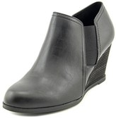 Dr. Scholl's Primo Women Round Toe Synthetic Black Bootie.