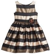 Frais Toddler Girl's Stripe Fit & Flare Dress
