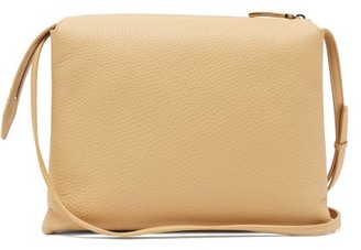 The Row Nu Twin Small Leather Cross-body Bag - Beige