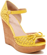 Restricted Melrose Peep Toe Wedge