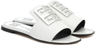 Givenchy 4G leather slides