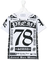 Philipp Plein printed T-shirt - kids - Cotton - 8 yrs