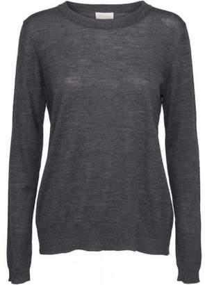 Melange Home Minus - Grey Rose Knit Pullover - XS - Grey