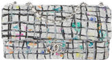 Chanel Hand Painted Graffiti Flap Bag