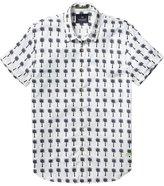 Scotch & Soda Poplin Short Sleeve Shirt - Combo D