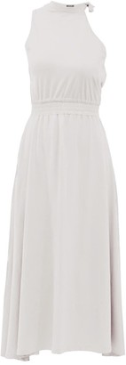 Z.G.Est Cotton Dress Madlenne White