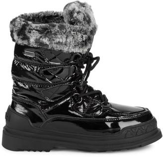 Pajar Faux Fur-Trim Lace-Up Boots