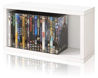 Ebern Designs Stackable Media Shelves Color: White