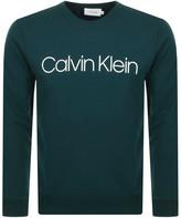 Calvin klein Sweatshirt Green buy and