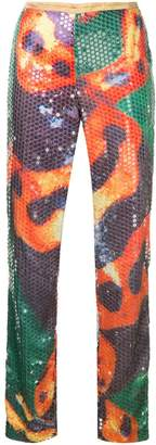 Walter Van Beirendonck Pre-Owned sequinned trousers