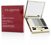 Clarins 4 Colour Eyeshadow Palette (Smoothing & Long Lasting) - Smoky - 6.9g/0.2oz