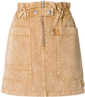 Sea Idun acid wash skirt