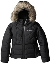 Columbia Kids Katelyn Crest Jacket (Toddler) (Black) Girl's Coat