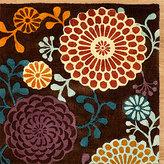 Kimono Print Micro Jute Rug
