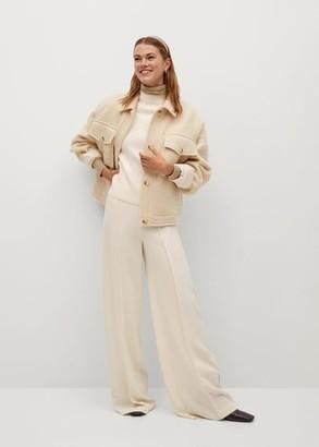 MANGO Fine-knit sweater fuchsia - XS - Women