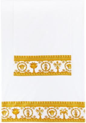 Versace White and Gold I Heart Baroque Linen Set, Queen