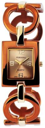 Persona Womens Analogue Quartz Watch with None Strap 100497000239