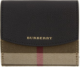 Burberry Black Luna House Check Derby Wallet